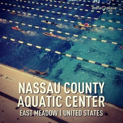 Photo taken at Nassau County Aquatic Center by Binky B. on 5/28/2013