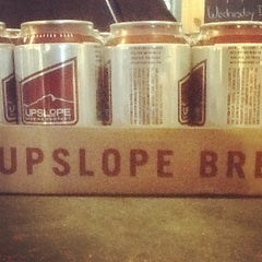 Photo taken at Upslope Brewing Company by Colorado Card on 12/17/2012