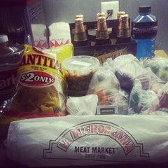 Photo taken at La Michoacana Meat Market by Michael B. on 5/8/2014