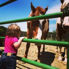 Photo taken at Hideaway Ranch & Retreat by Amanda C. on 4/20/2013