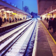 Photo taken at Penge East Railway Station (PNE) by Marc P. on 1/21/2013