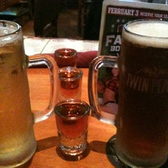 Photo taken at Twin Peaks Restaurant by Sam B. on 1/5/2013