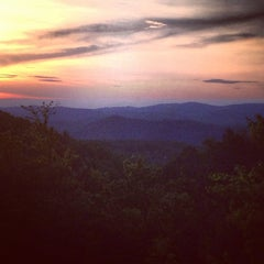 Photo taken at Bluff Mountain by Morgan W. on 5/11/2013