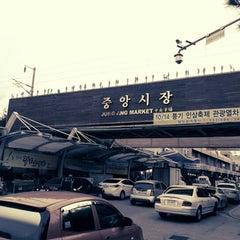 Photo taken at 강릉 중앙시장 by Kyung Jin D. on 9/15/2012