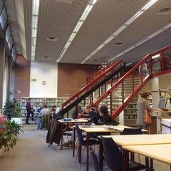 Photo taken at Biblioteca Europea by Carlo N. on 10/25/2014