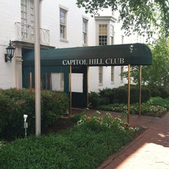 Photo taken at Capitol Hill Club by David N. on 6/11/2013