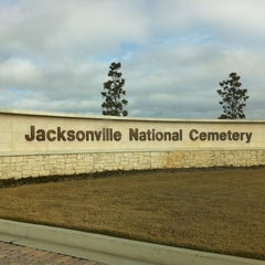 Photo taken at Jacksonville National Cemetery by Julie W. on 12/15/2012
