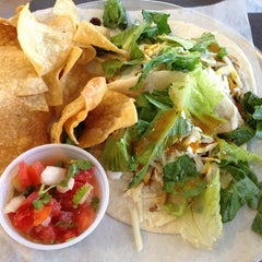 Photo taken at Hightide Burrito Co. by Jina S. on 7/21/2013