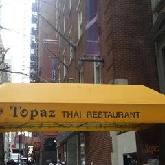 Photo taken at Topaz Thai by Neal H. on 2/28/2013