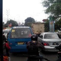 Photo taken at Jalan K.H. Soleh Iskandar by Baskoro S. on 1/30/2014