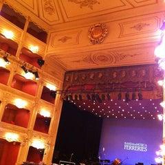 Photo taken at Teatre Principal by Manuel B. on 3/1/2013