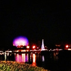 Photo taken at IllumiNations: Reflections of Earth by Rj E. on 11/24/2012