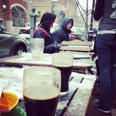 Photo taken at Arbor Brewing Company by Macklin U. on 2/2/2013
