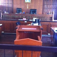 Photo taken at ศาลจังหวัดอยุธยา (Ayutthaya Provincial Court) by Onizugolf on 12/24/2012