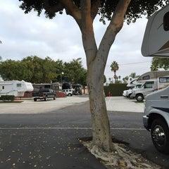 Photo taken at Anaheim Resort RV Park by Hide* K. on 11/15/2014