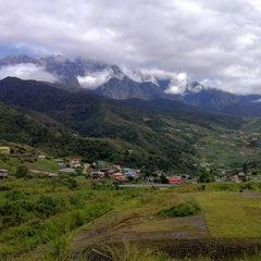 Photo taken at Pekan Kundasang by Faris on 2/26/2013