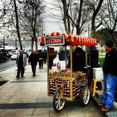 Photo taken at Sirkeci Tramvay Durağı by Anna D. on 2/11/2013