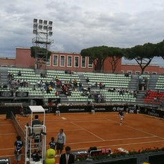 Photo taken at Foro Italico by Daniela S. on 5/15/2013