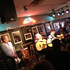 Photo taken at Bluebird Cafe by Kate O. on 4/19/2013