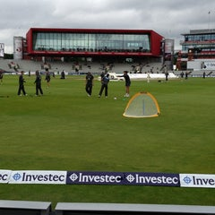 Photo taken at Emirates Old Trafford by GAURAV K. on 8/5/2013