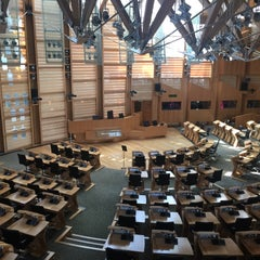 Photo taken at Scottish Parliament by Tim H. on 7/16/2015