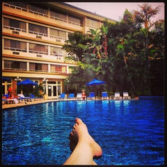 Photo taken at Hotel Westin Camino Real by Haley F. on 4/19/2013