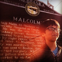 Photo taken at Malcolm X  Birthsite by Chris H. on 11/20/2012