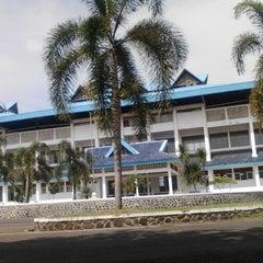 Photo taken at Stadion Kota Batik by yudhi d. on 4/4/2014