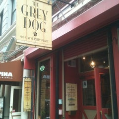 Photo taken at The Grey Dog by Soyeun P. on 10/27/2012