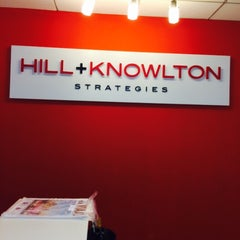 Photo taken at Hill & Knowlton by Raúl V. on 6/23/2015