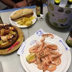 Photo taken at Cervecería La Sureña by murat s. on 7/26/2015