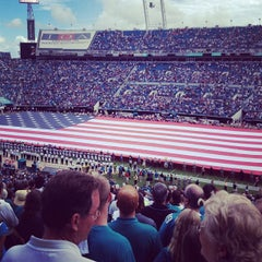Photo taken at EverBank Field by Holly H. on 9/16/2012