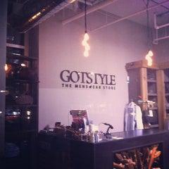Photo taken at GOTSTYLE Menswear by Jeff C. on 3/17/2013