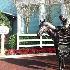 Photo taken at Disney's Saratoga Springs Resort & Spa by Sarah P. on 1/3/2013