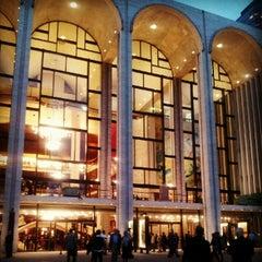 Photo taken at The Metropolitan Opera by dawn.in.newyork on 9/27/2012