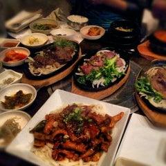 Photo taken at Don's Bogam Korean BBQ & Wine by dawn.in.newyork on 10/27/2012