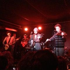 Photo taken at Mercury Lounge by David T. on 2/27/2013