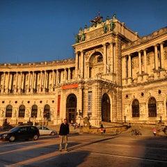 Photo taken at Österreichische Nationalbibliothek - Austrian National Library by Mert A. on 5/18/2013
