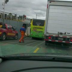 Photo taken at Ferry Ruende by Patricio M. on 12/26/2012