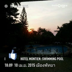 Photo taken at The Montien Hotel Pattaya by Naratip N. on 4/10/2015