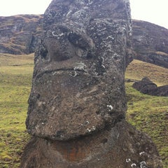 Photo taken at Isla de Pascua | Rapa Nui by Ami G. on 11/5/2012