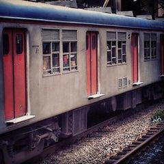 Photo taken at Estação Poá (CPTM) by Alesson N. on 3/10/2013