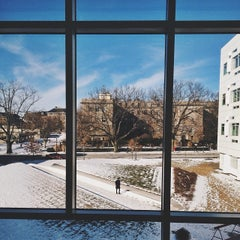 Photo taken at Weill Hall by Rick C. on 1/30/2014