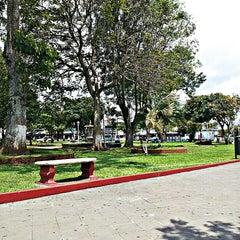 Photo taken at Parque de Guadalupe by Heyner V. on 6/17/2013