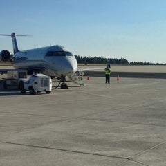 Photo taken at Flagstaff Pulliam Airport (FLG) by Brian C. on 10/1/2012