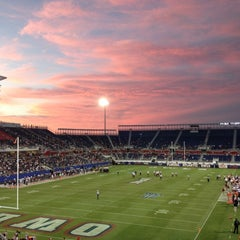 Photo taken at FAU Football Stadium by Patrina T. on 10/27/2012