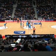 Photo taken at Barclaycard Center - Palacio de Deportes de la Comunidad de Madrid by Jose S. on 12/1/2012