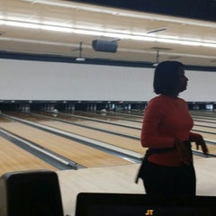 Photo taken at AMF Western Branch Lanes by BELINDA S. on 4/25/2015
