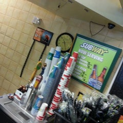 Photo taken at Subway by Andrew G. on 12/8/2012