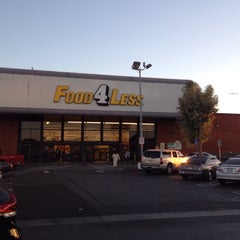 Photo taken at Food 4 Less by Theron X. on 10/24/2014